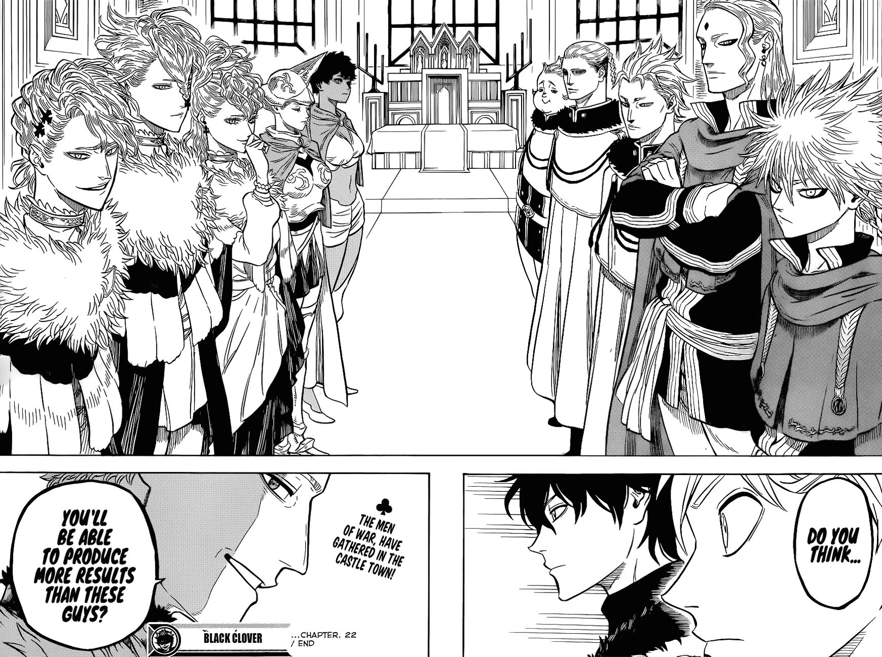 Black Clover, Chapter 22 Gathering At The Kings Palace image 018