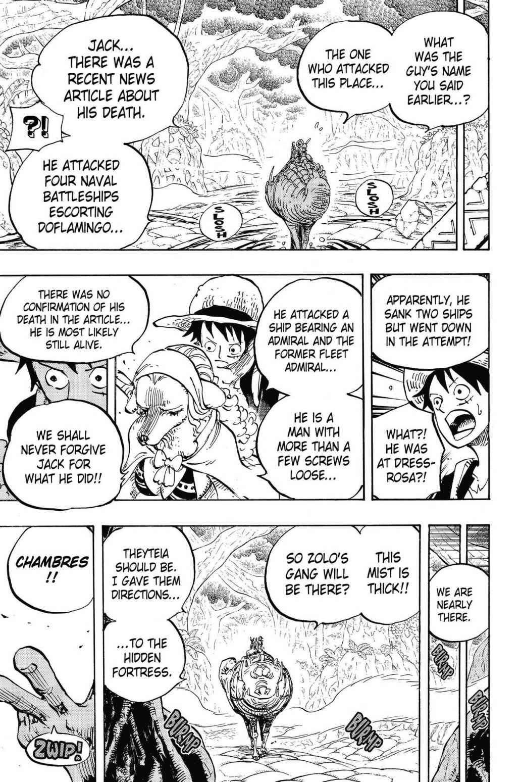 One Piece, Chapter 806 image 009