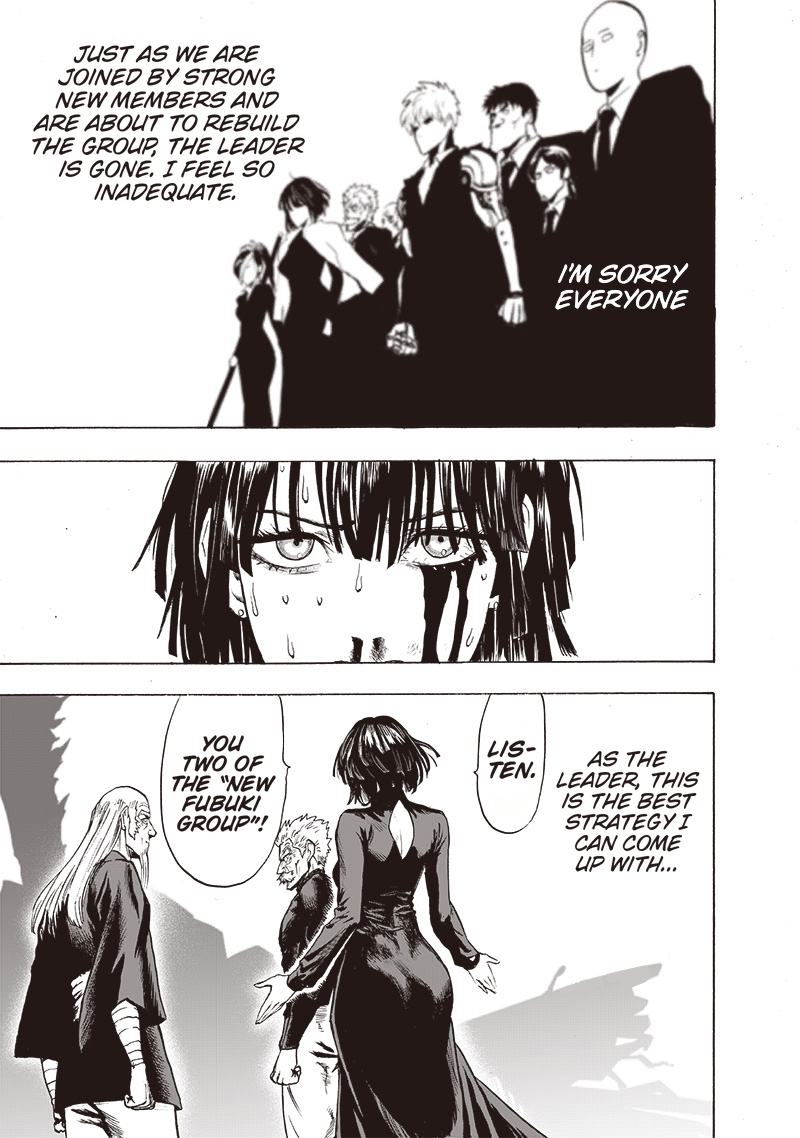 One Punch Man, Chapter One-Punch Man 124 image 012