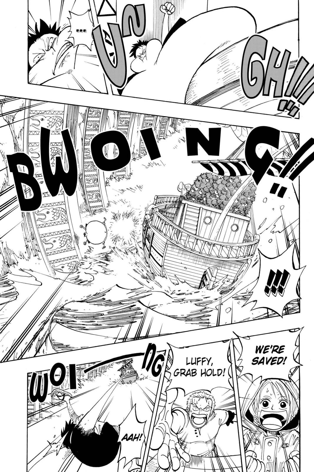 One Piece, Chapter 101 image 016