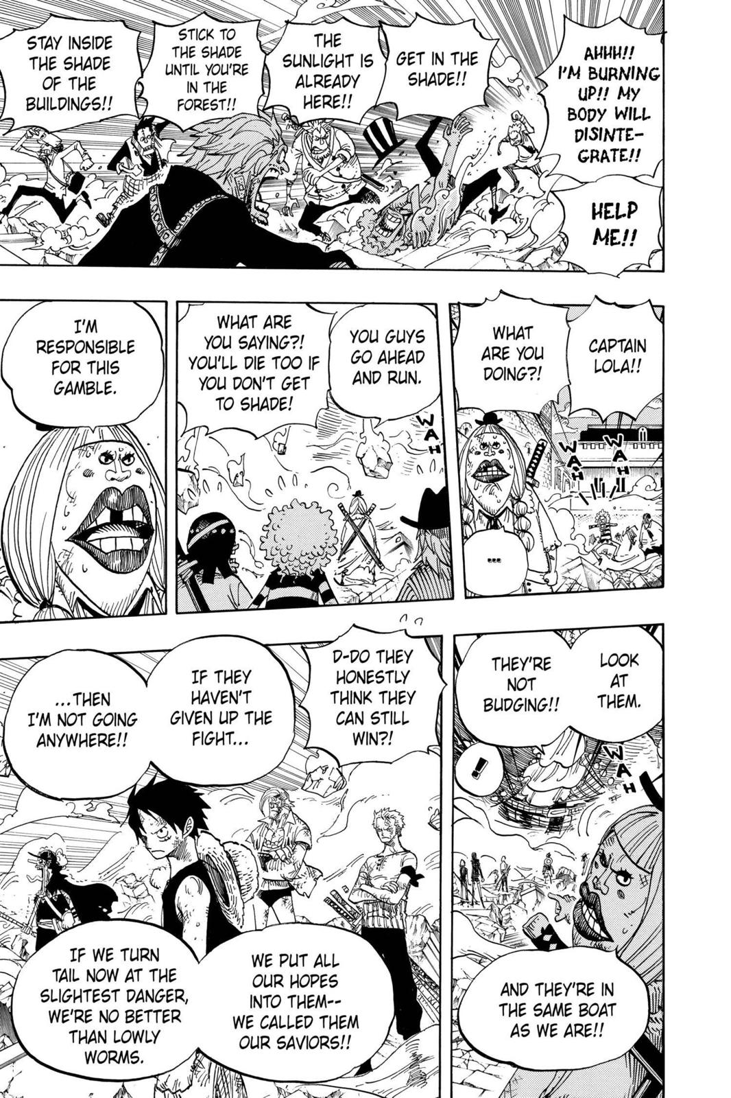 One Piece, Chapter 481 image 016