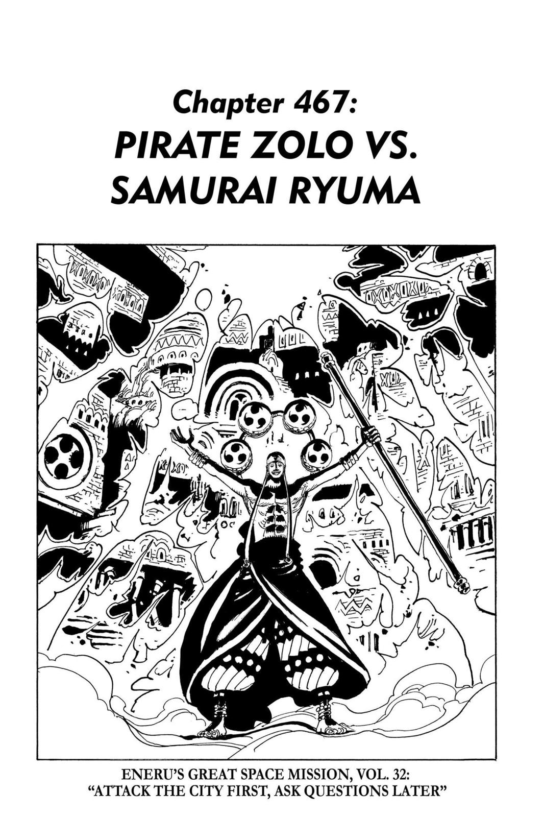 One Piece, Chapter 467 image 001