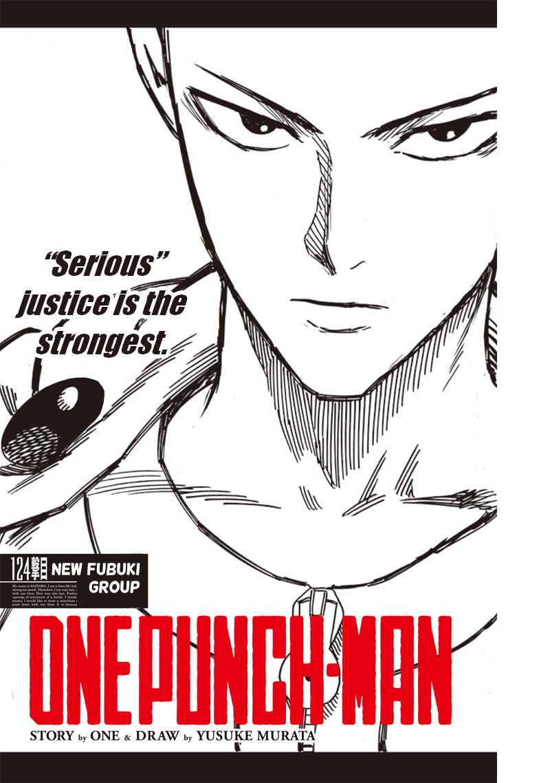 One Punch Man, Chapter One-Punch Man 124 image 001