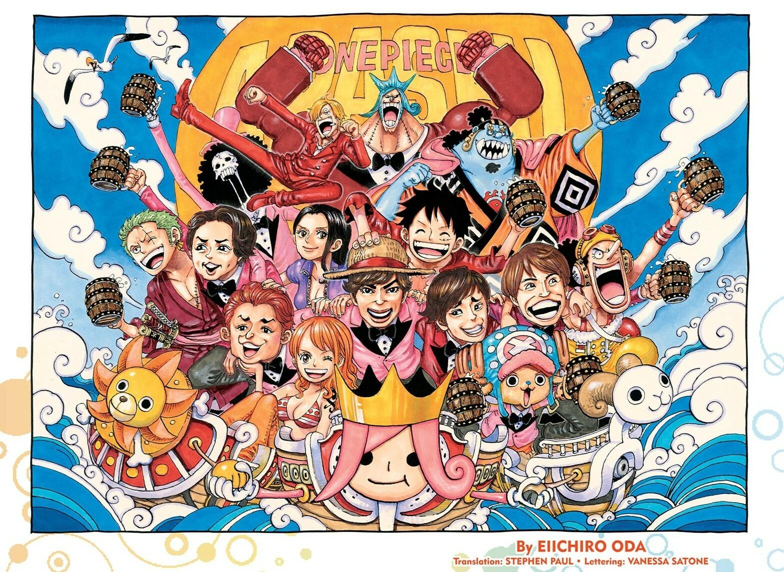 One Piece, Chapter 967 image 001