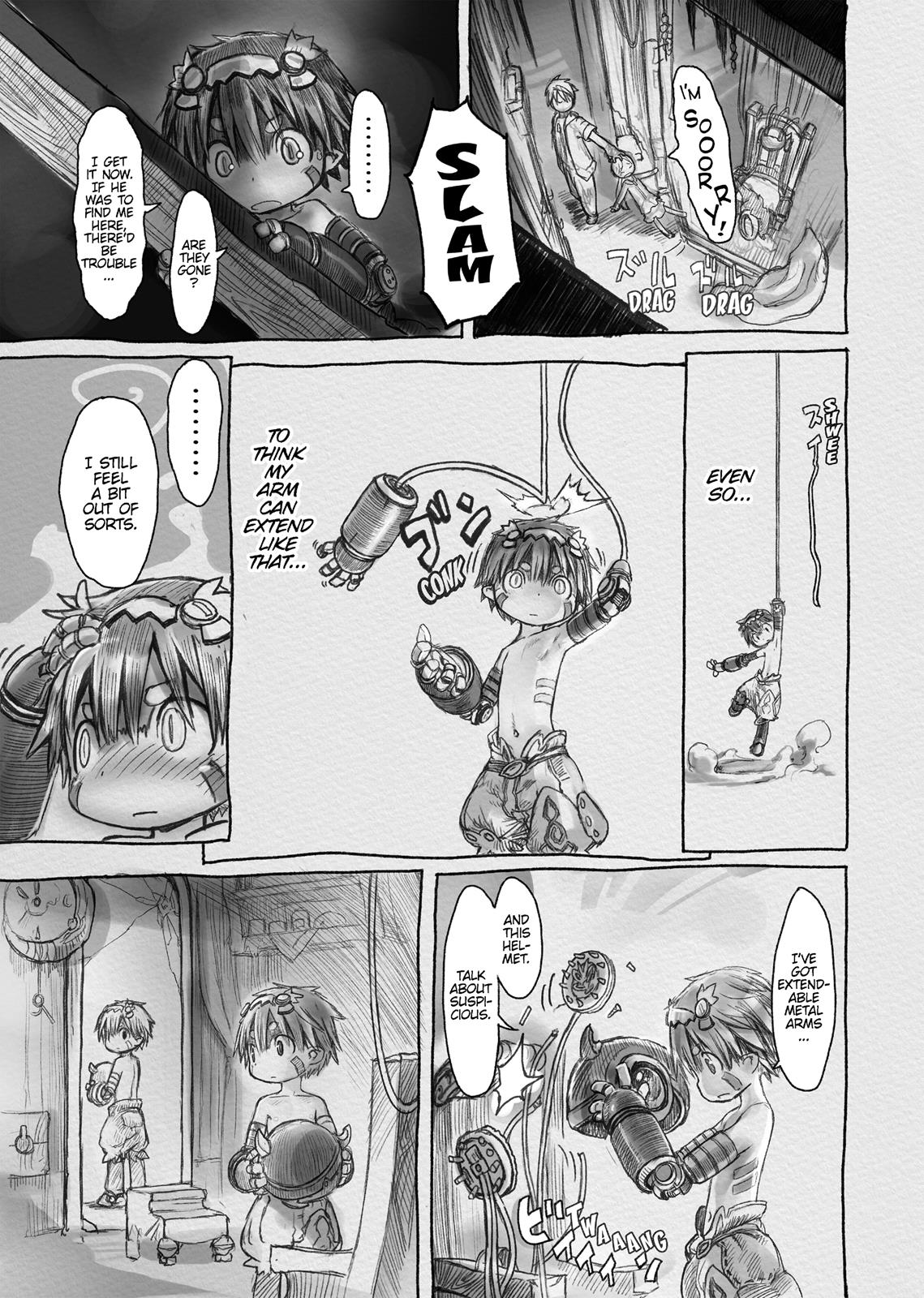 Made In Abyss, Chapter Hello,Abyss 3 image 011