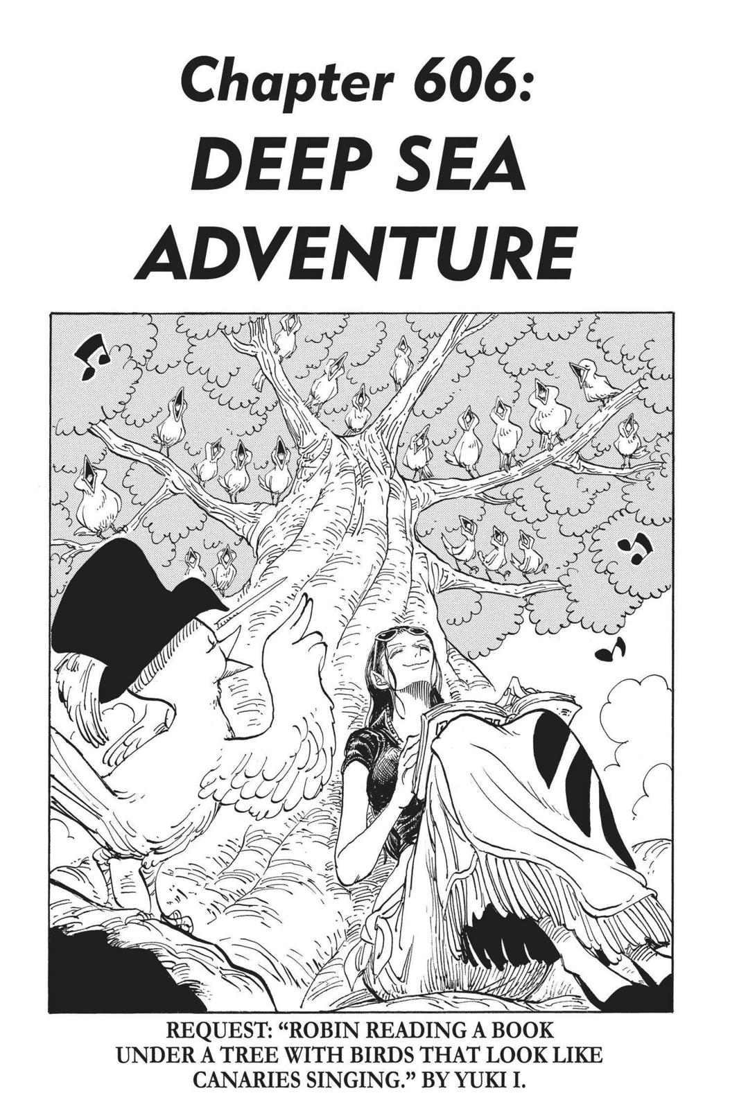 One Piece, Chapter 606 image 001