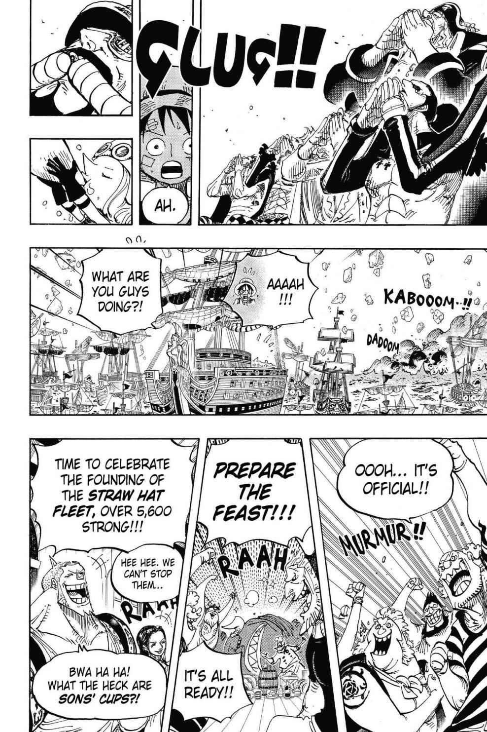 One Piece, Chapter 800 image 010