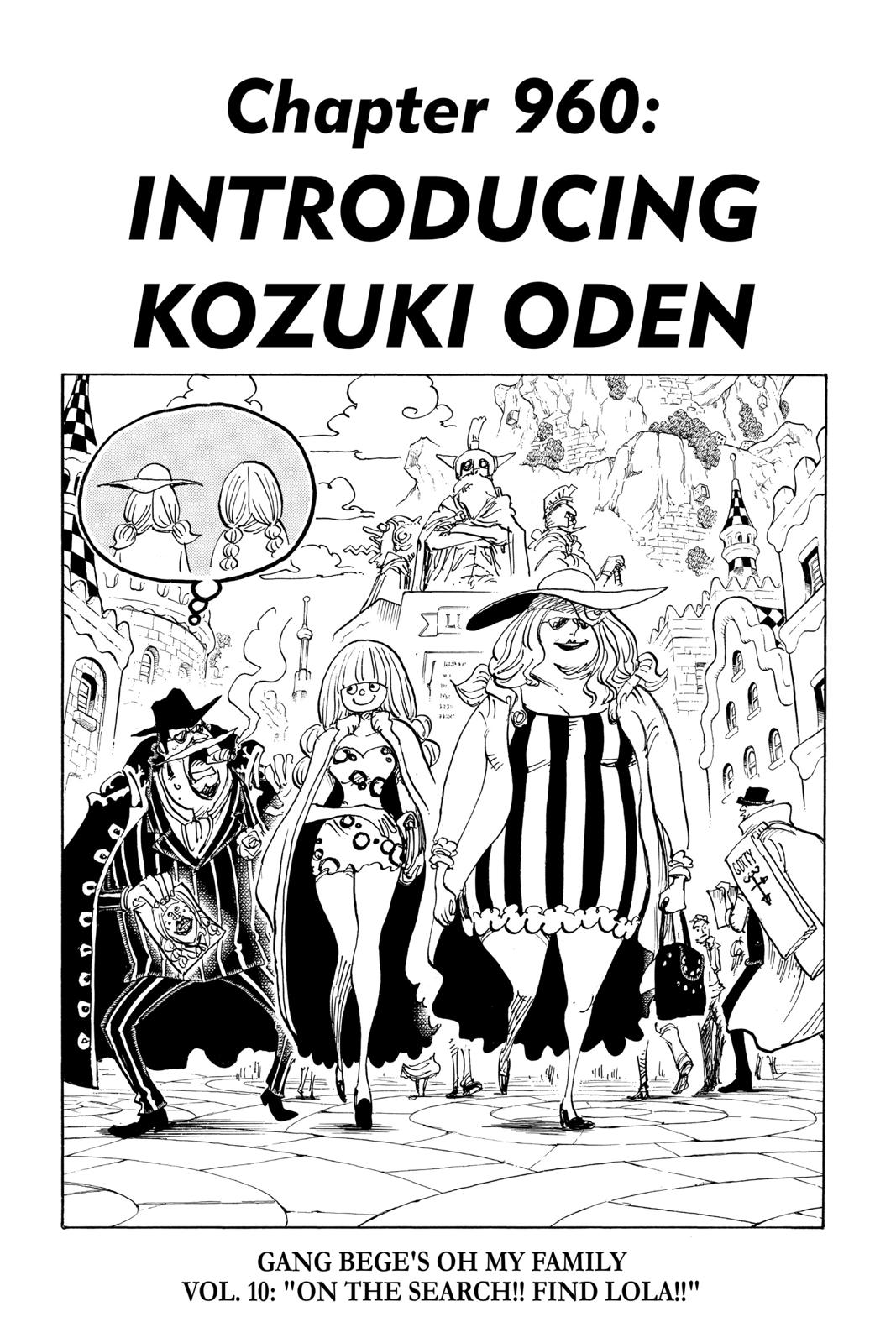 One Piece, Chapter 960 image 001