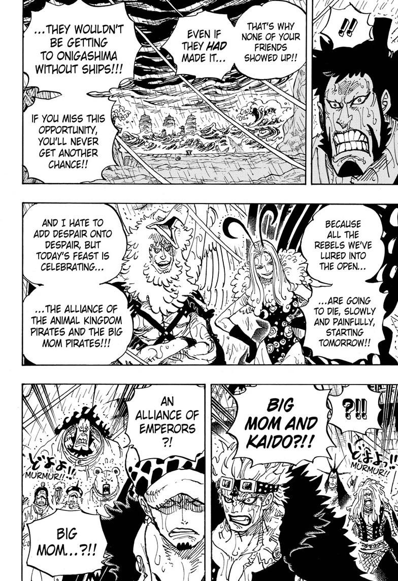 One Piece, Chapter 975 image 006