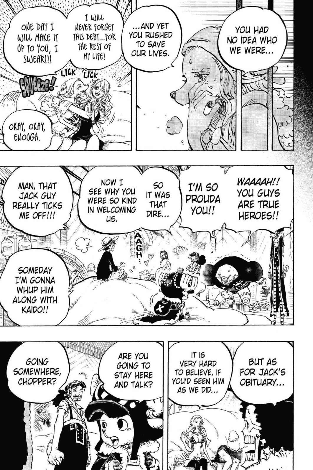 One Piece, Chapter 811 image 015