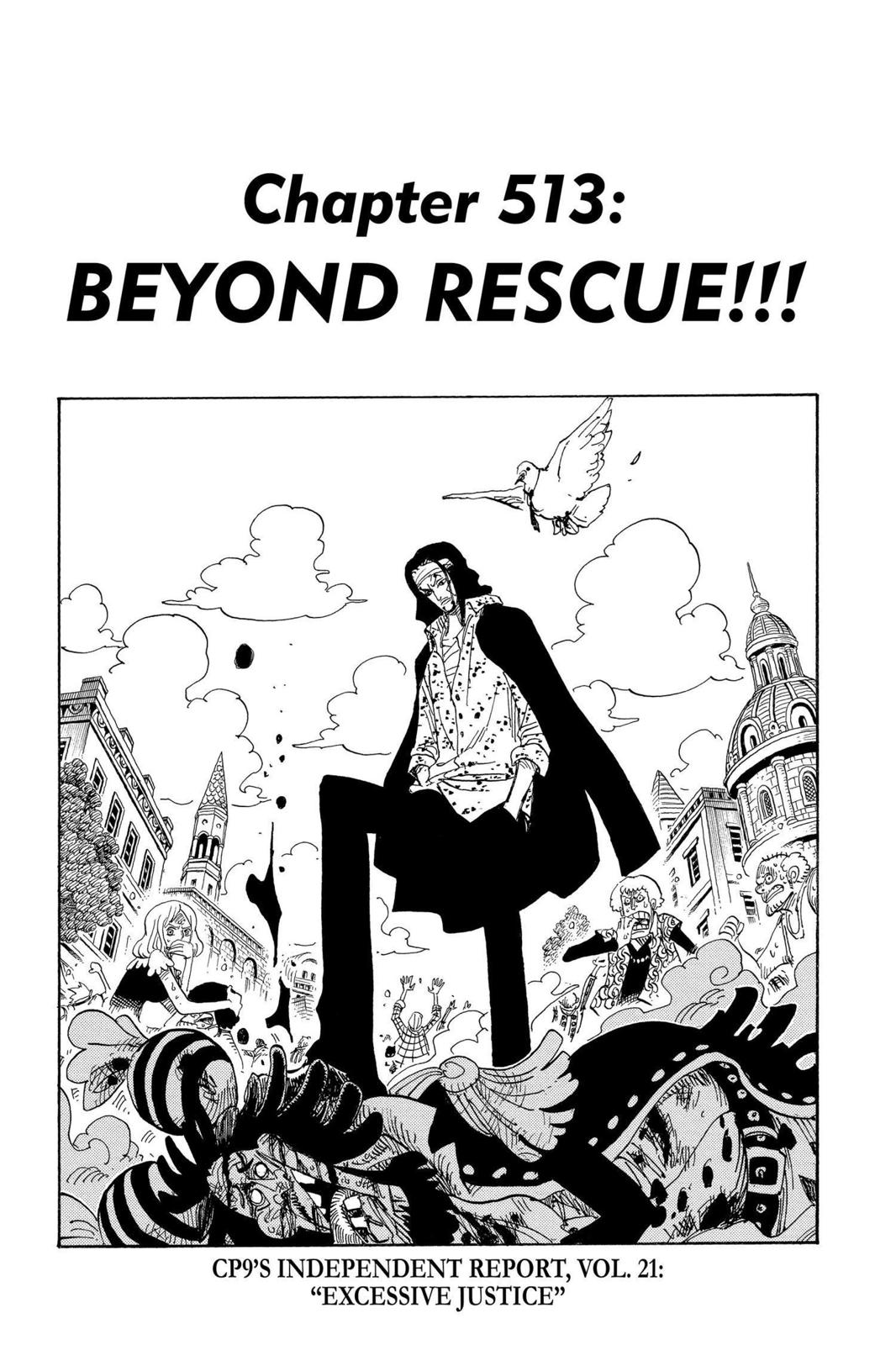 One Piece, Chapter 513 image 007