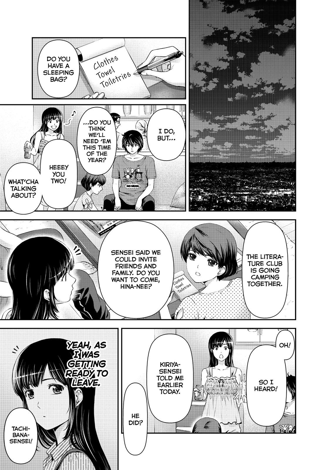 Domestic Na Kanojo, Chapter 24 image 015