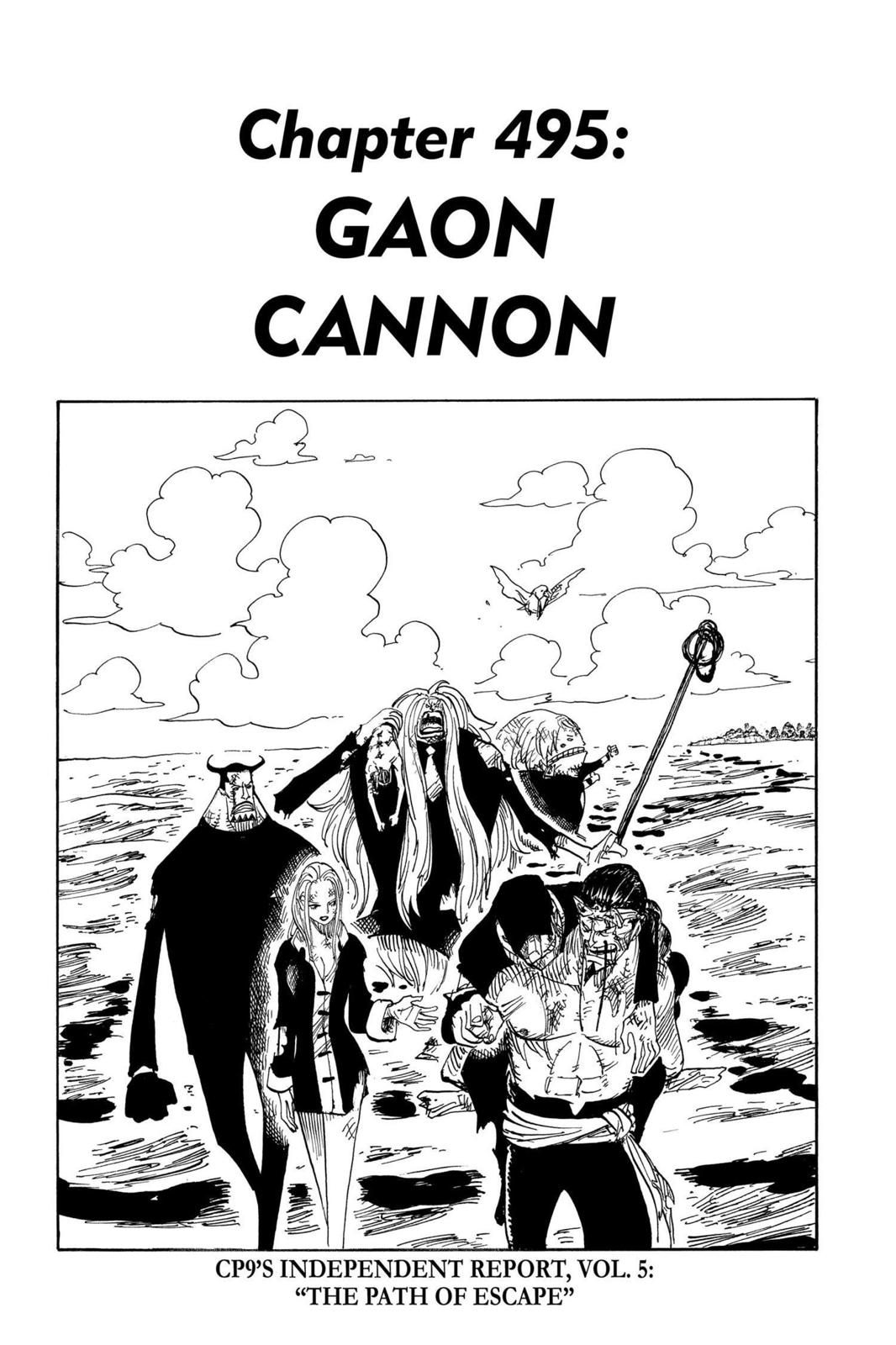 One Piece, Chapter 495 image 001