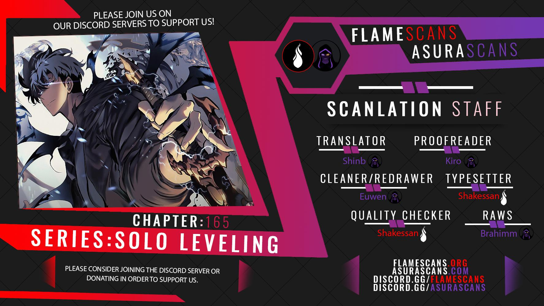 Solo Leveling, Chapter 165 image 01