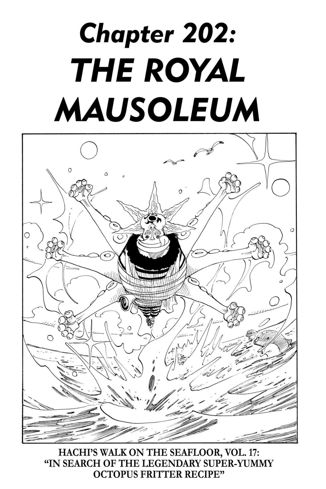 One Piece, Chapter 202 image 001