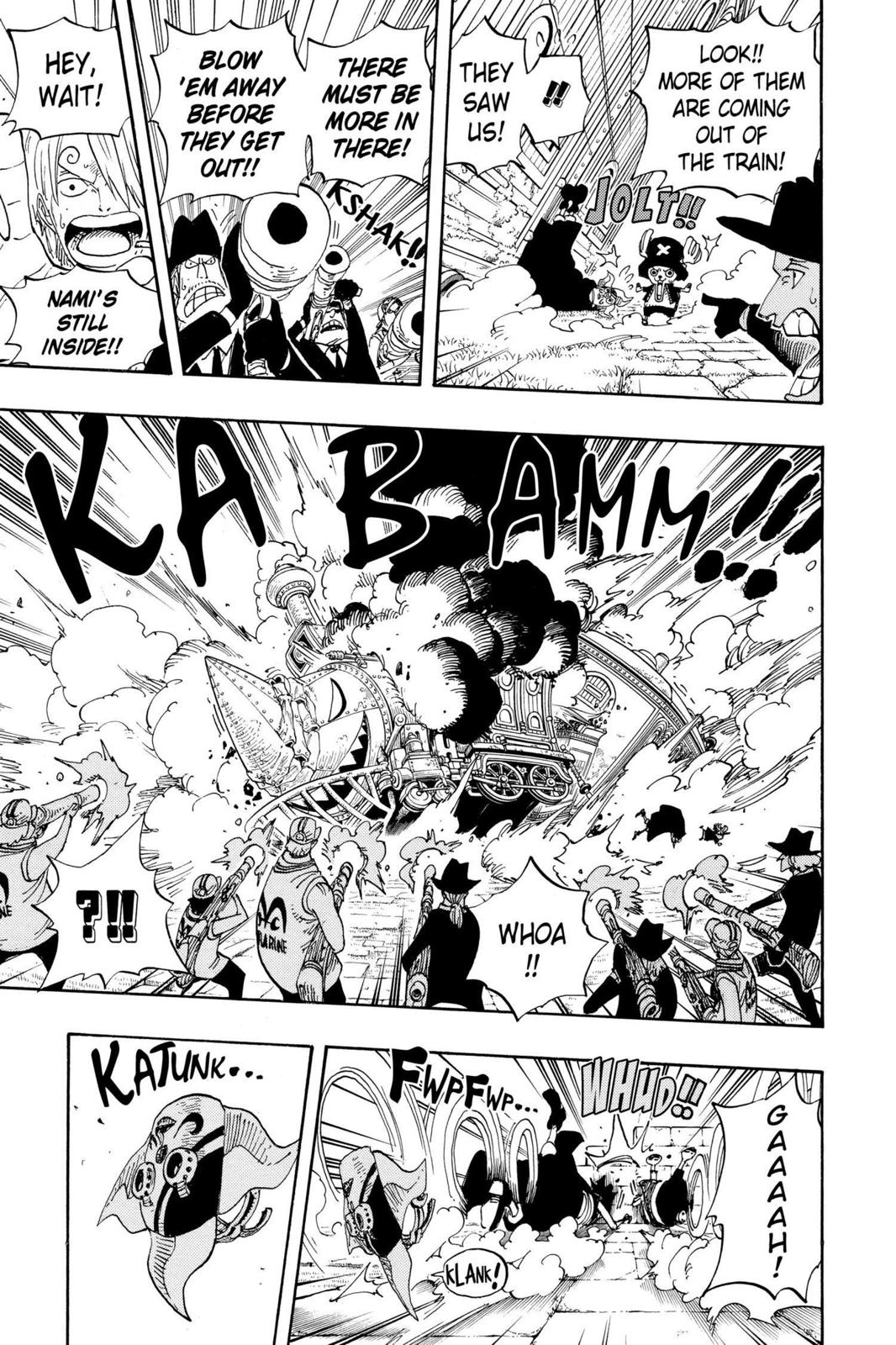 One Piece, Chapter 381 image 003