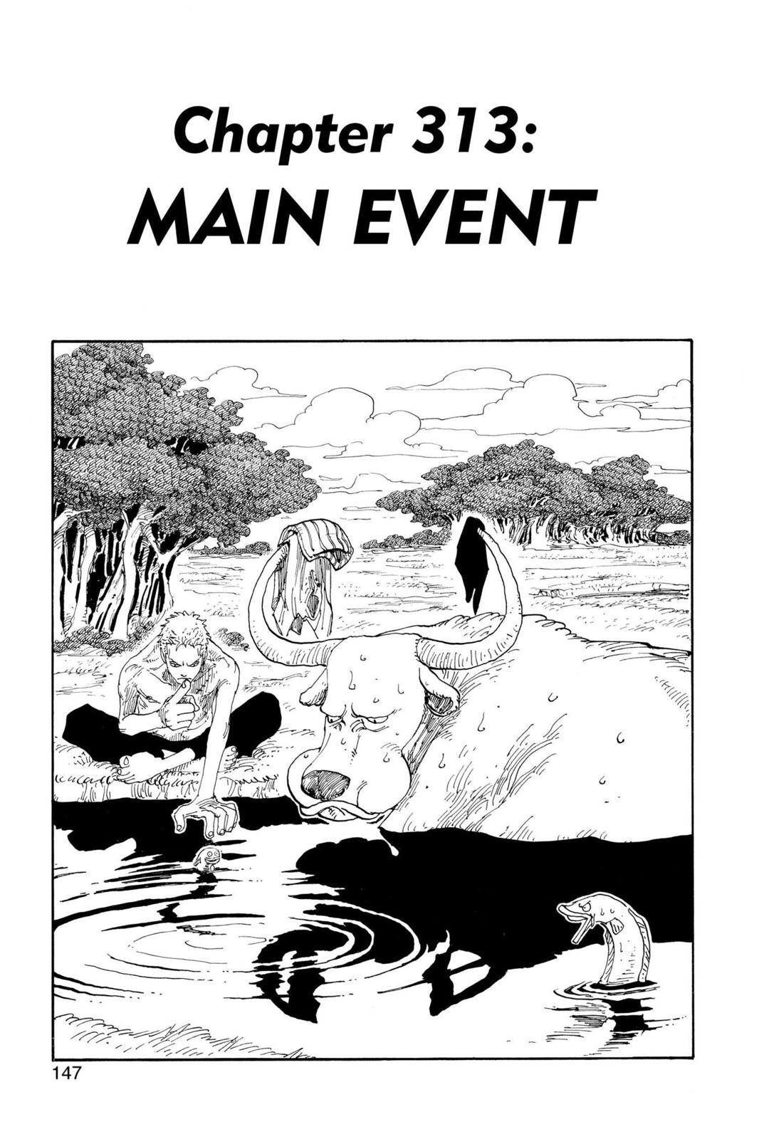 One Piece, Chapter 313 image 001