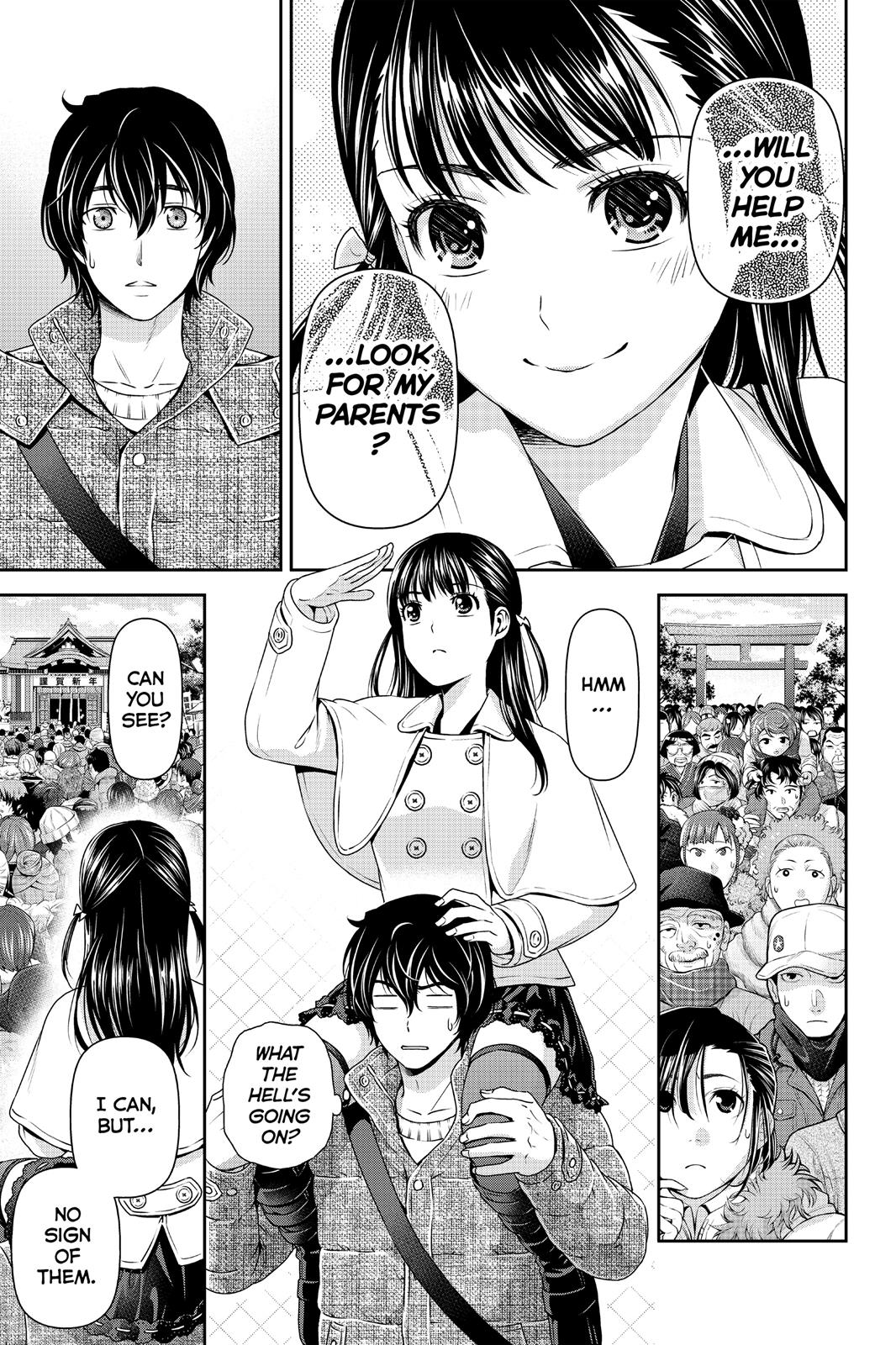Domestic Na Kanojo, Chapter 67 image 012