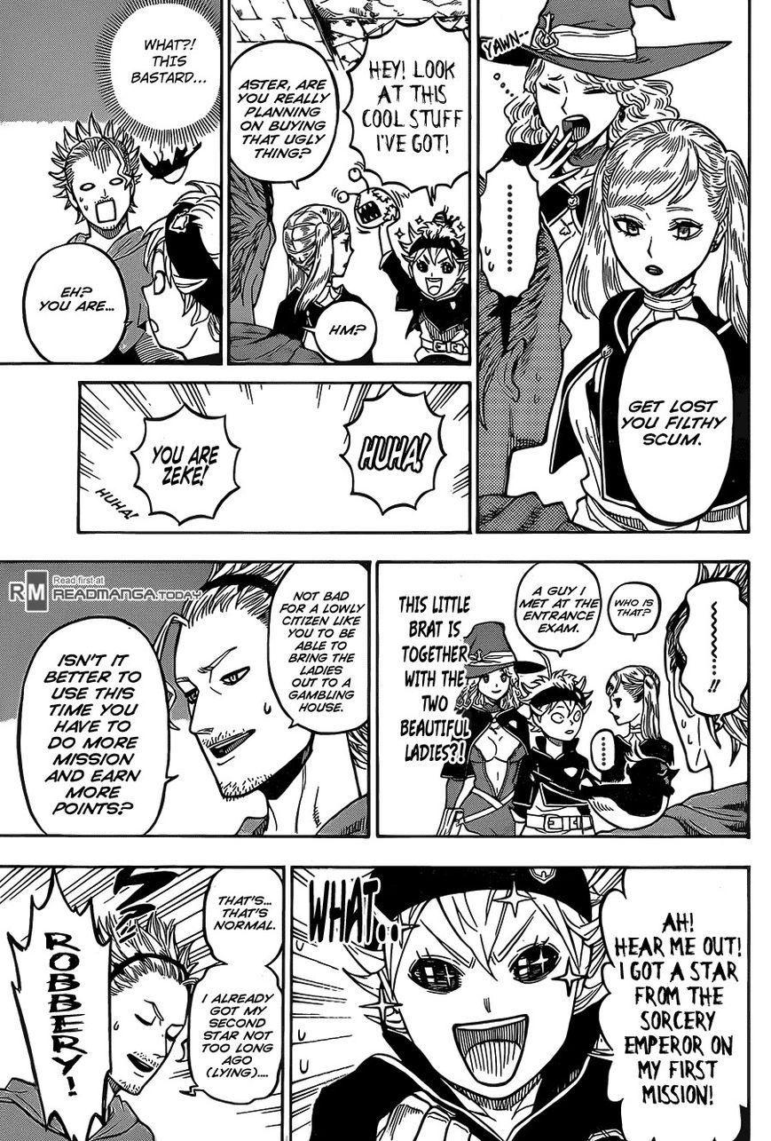 Black Clover, Chapter 10 An Incident at the Castle Town image 010