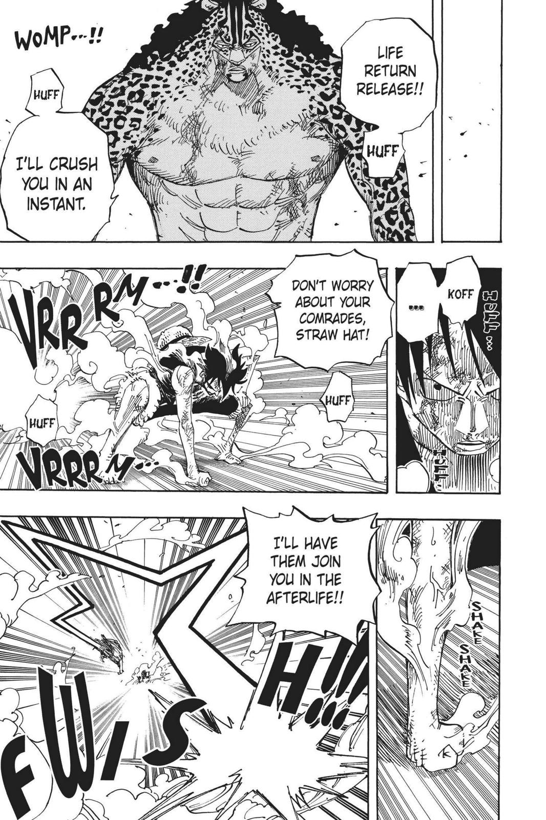 One Piece, Chapter 427 image 009