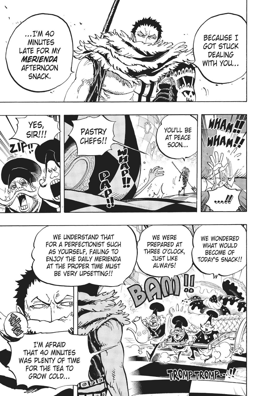 One Piece, Chapter 883 image 005