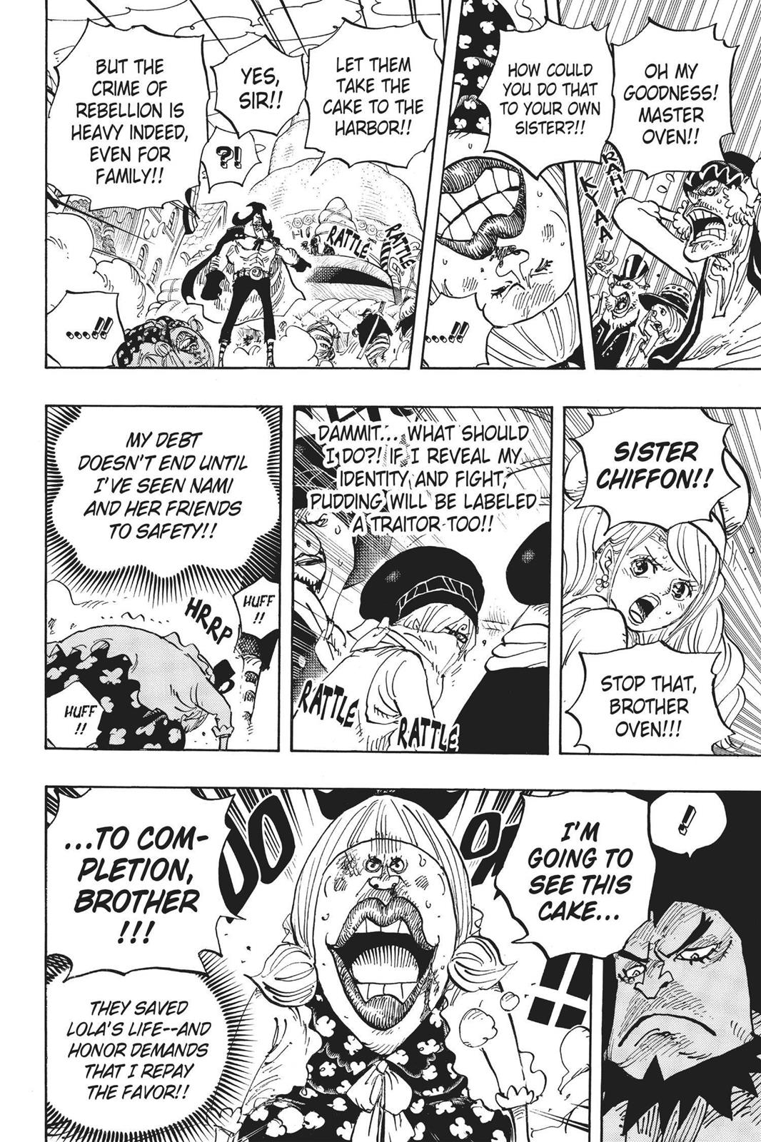 One Piece, Chapter 886 image 006