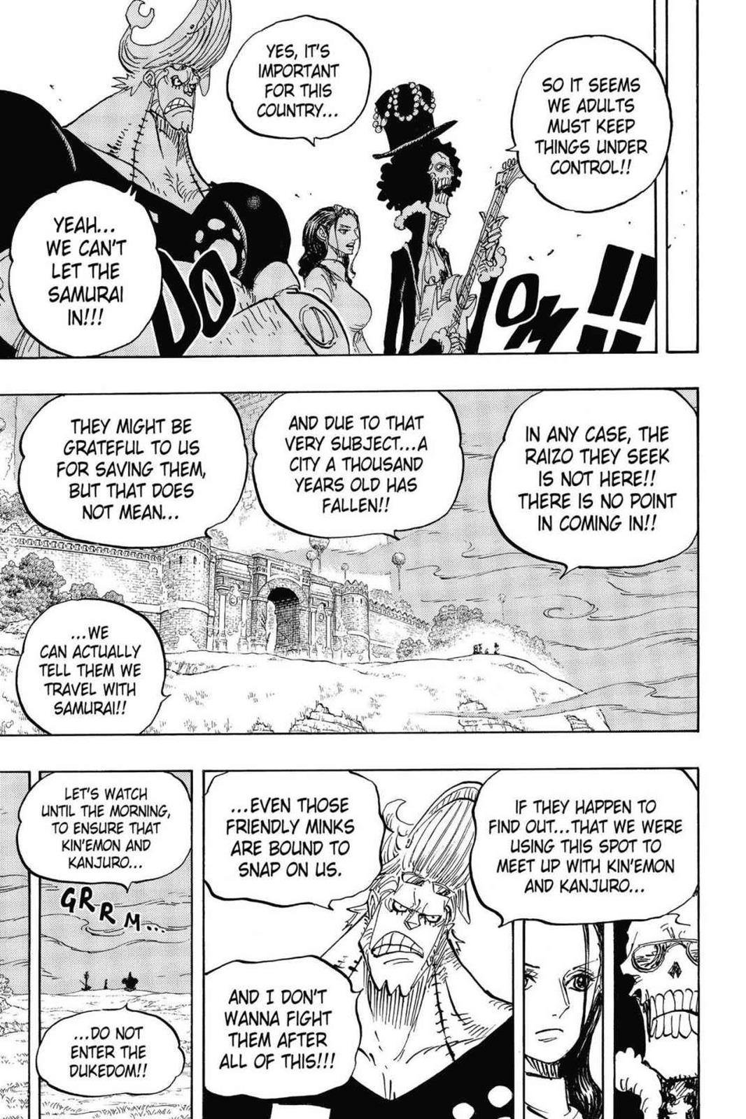 One Piece, Chapter 815 image 015
