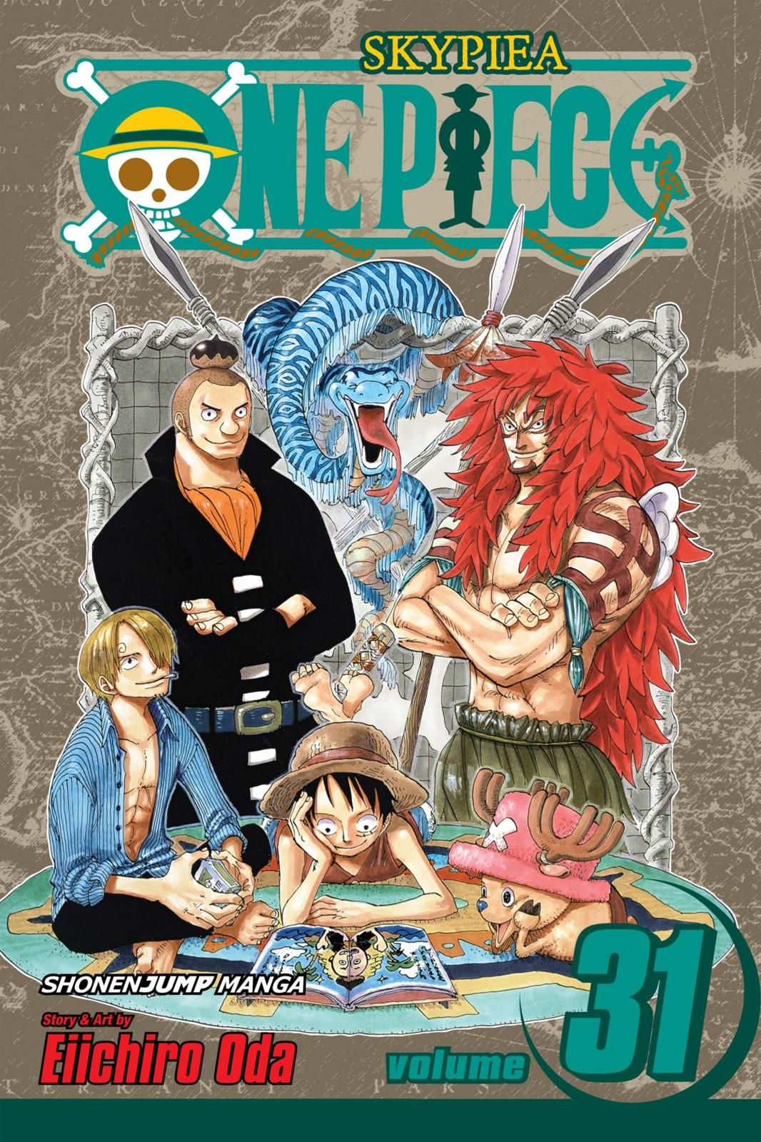 One Piece, Chapter 286 image 001