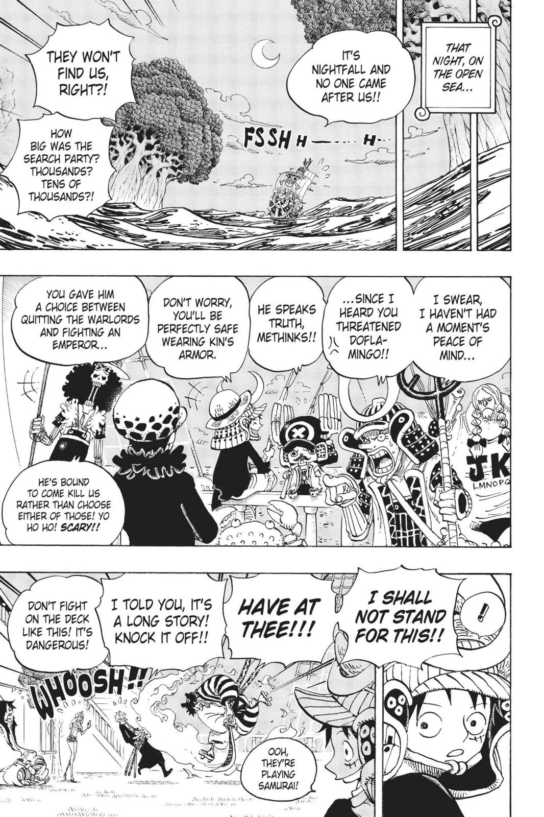 One Piece, Chapter 699 image 011