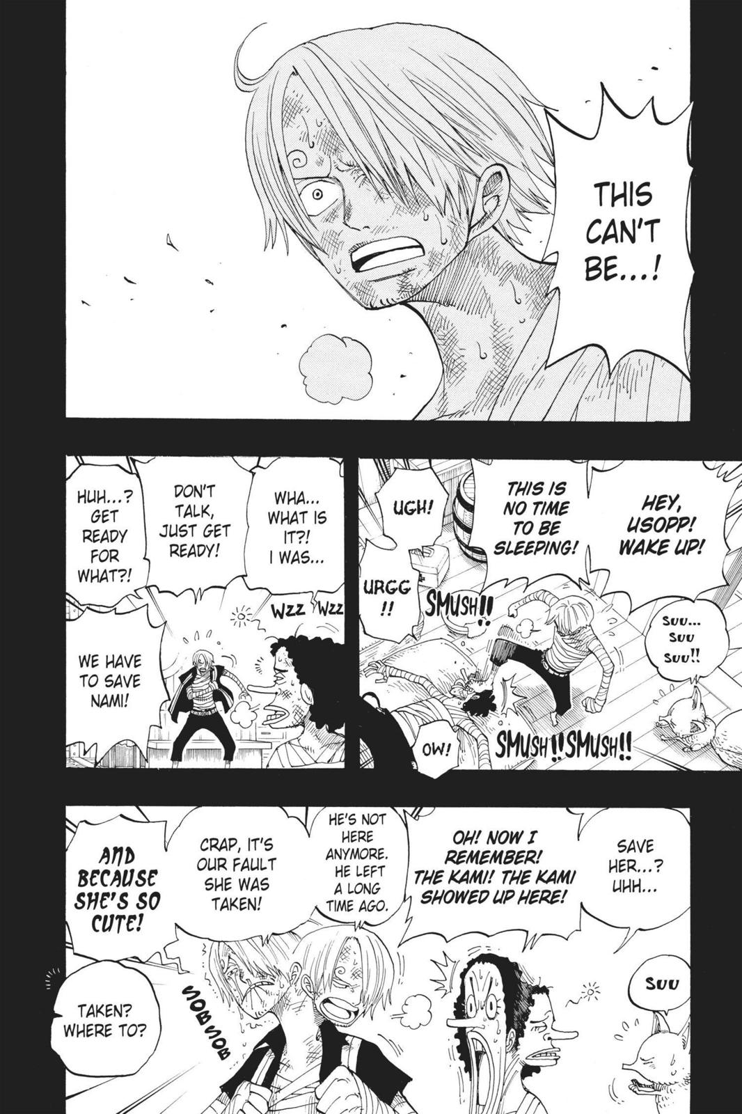 One Piece, Chapter 283 image 002