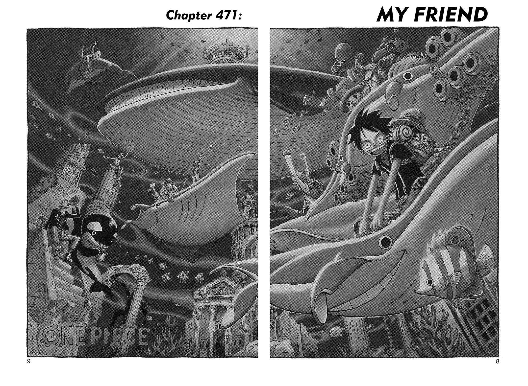One Piece, Chapter 471 image 008