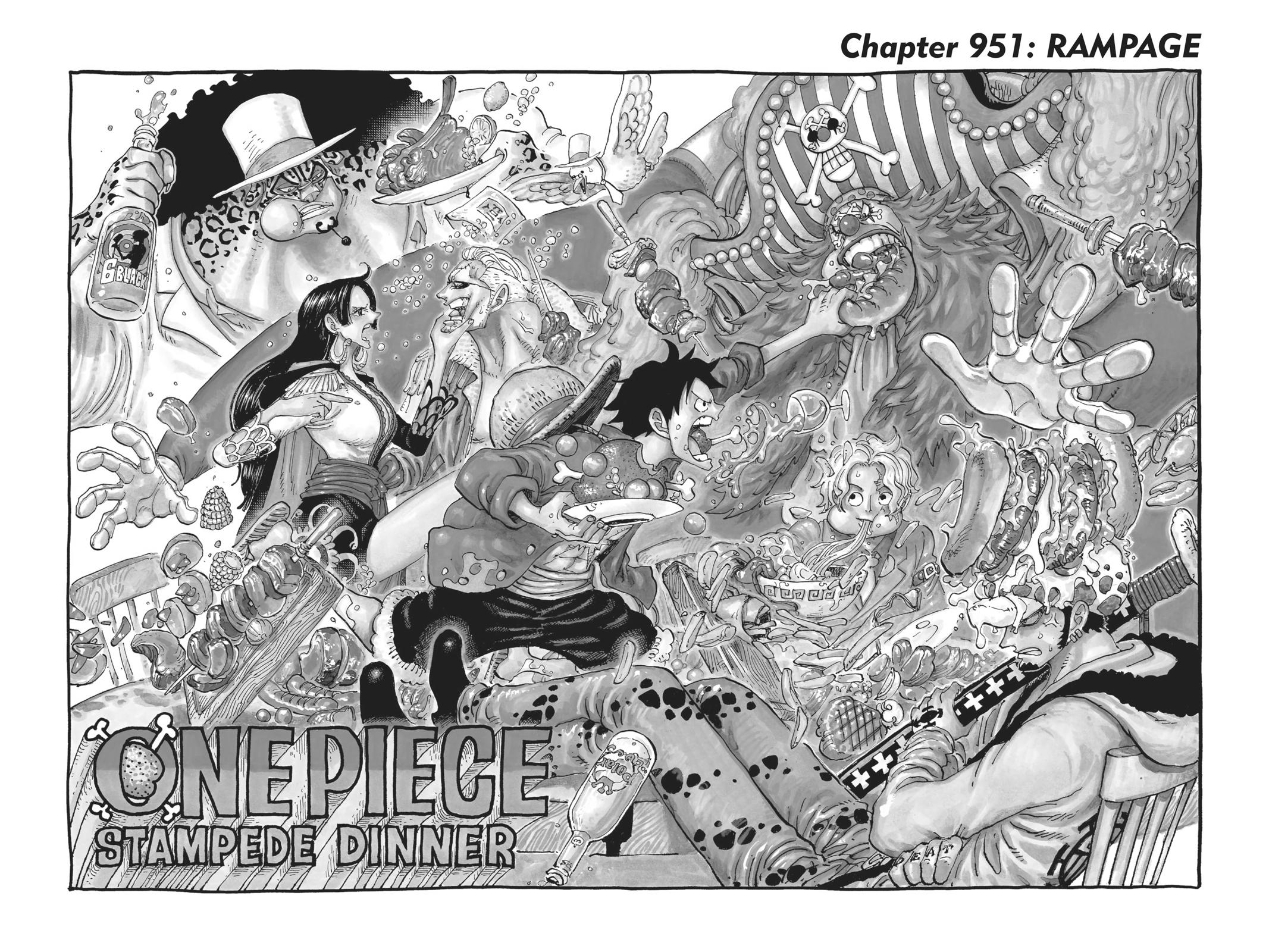 One Piece, Chapter 951 image 002
