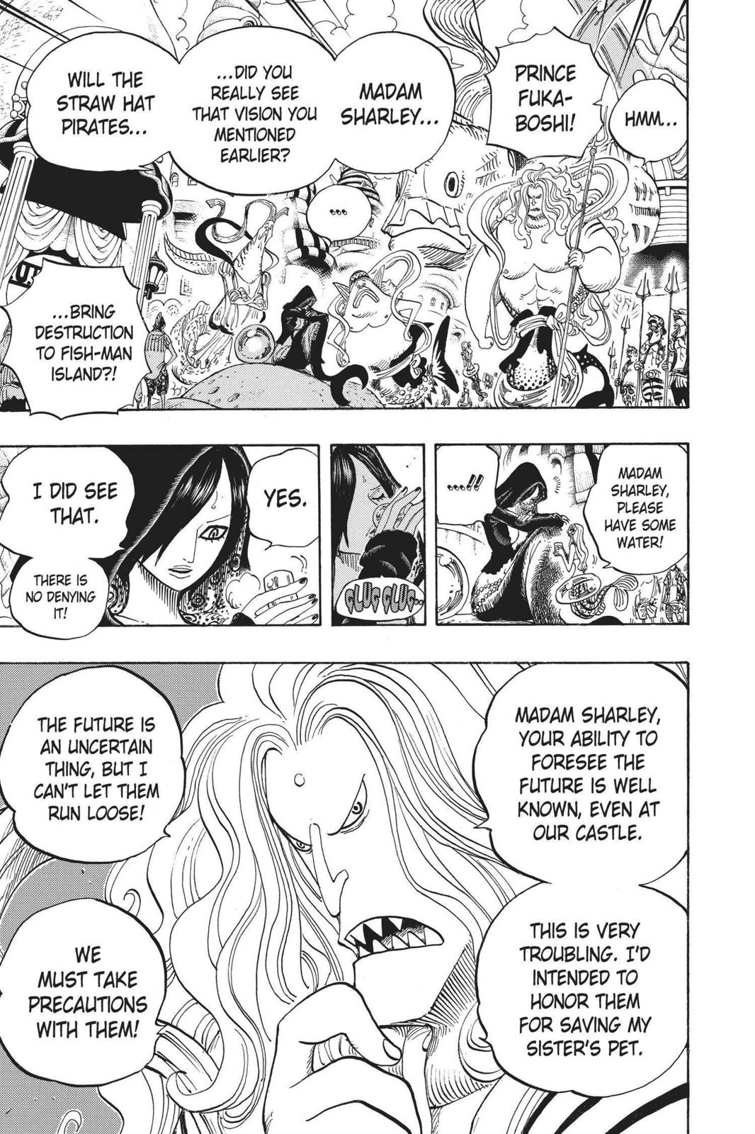 One Piece, Chapter 612 image 007