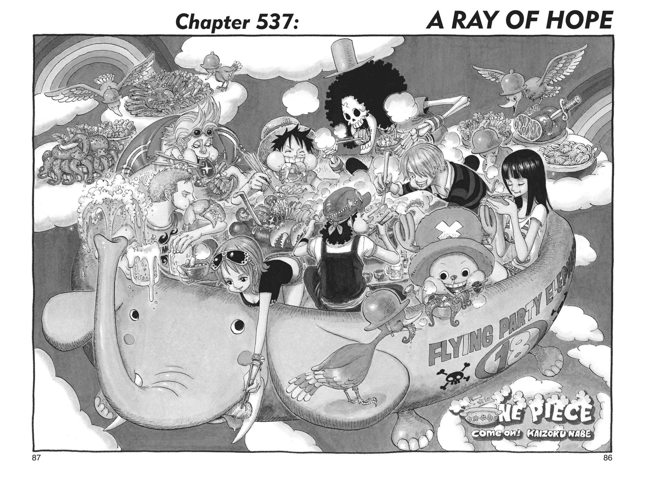 One Piece, Chapter 537 image 001