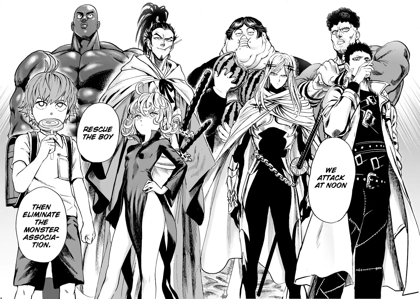 One Punch Man, Chapter Onepunch-Man 90 image 018