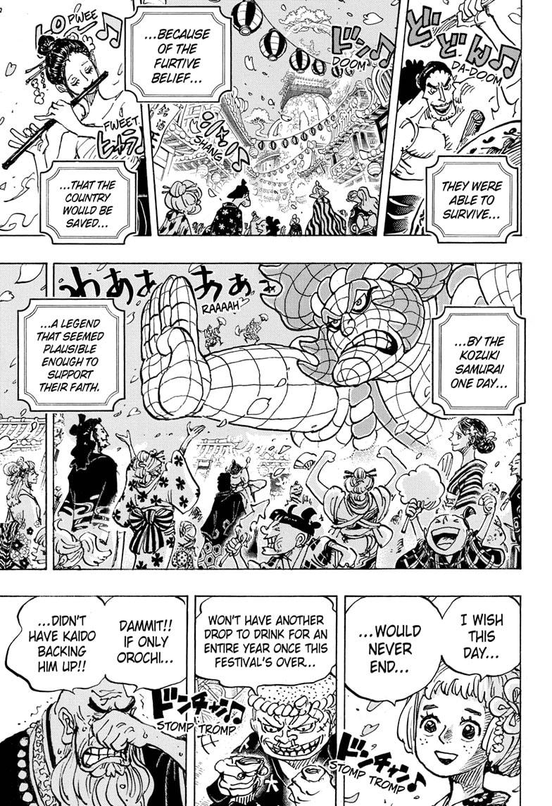 One Piece, Chapter 993 image 003