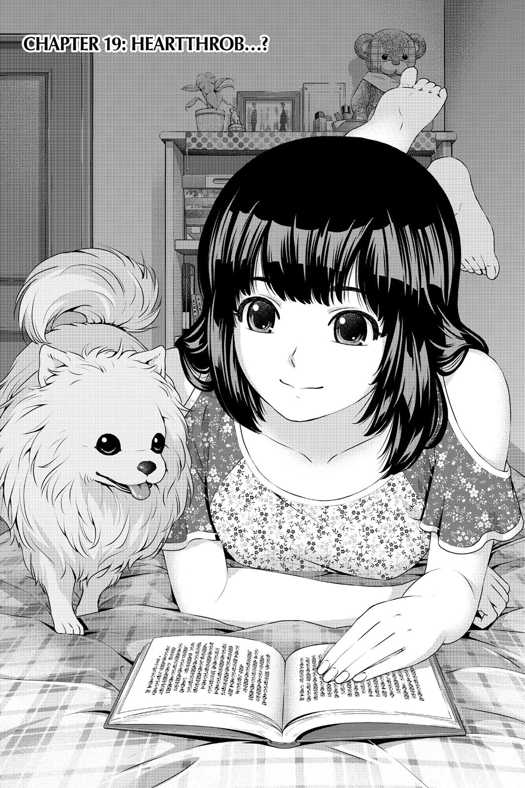 Domestic Na Kanojo, Chapter 19 image 001