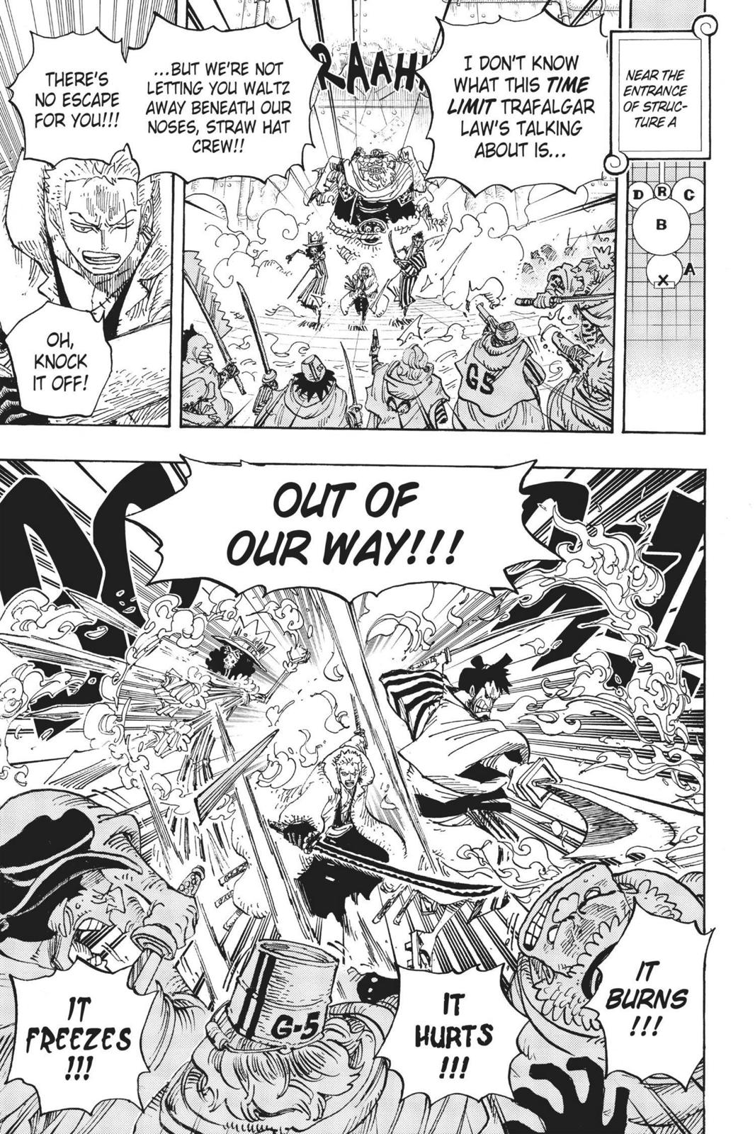 One Piece, Chapter 679 image 016