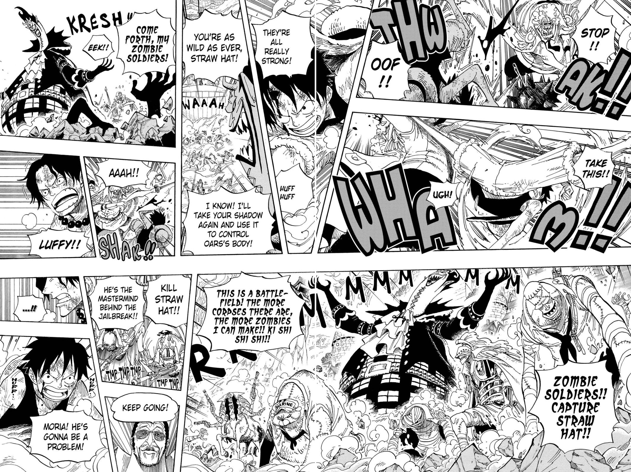 One Piece, Chapter 558 image 007