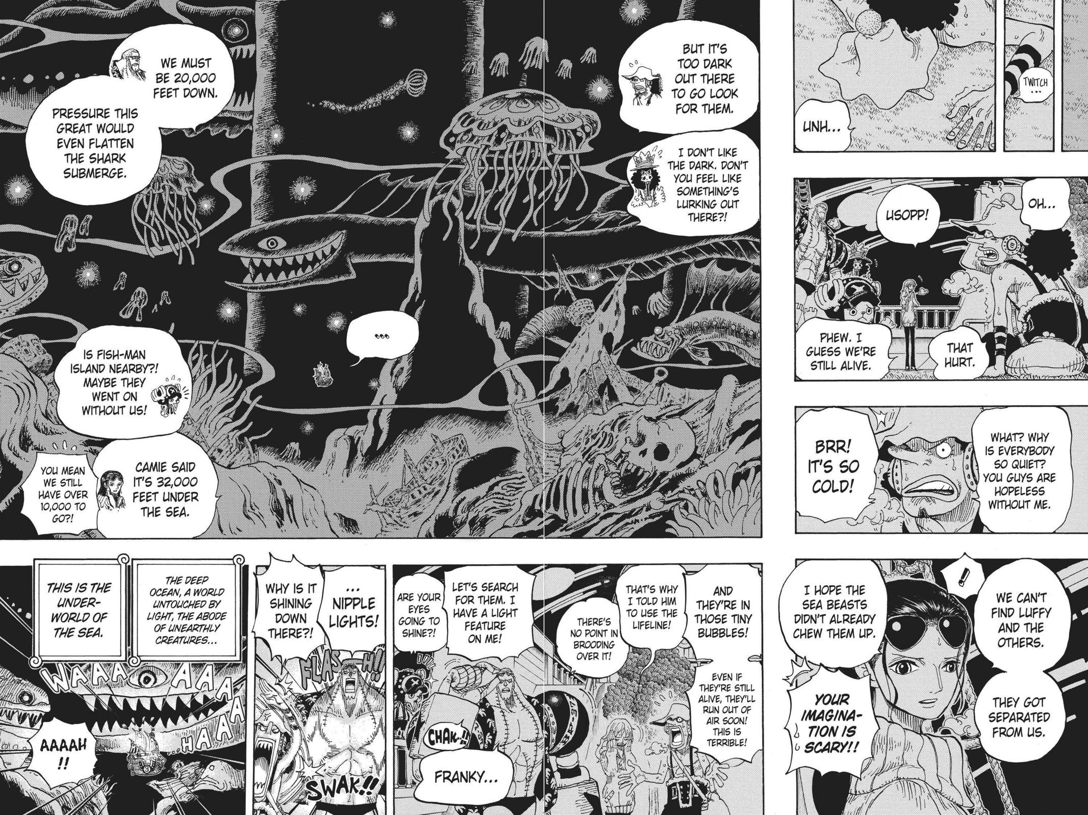 One Piece, Chapter 605 image 016