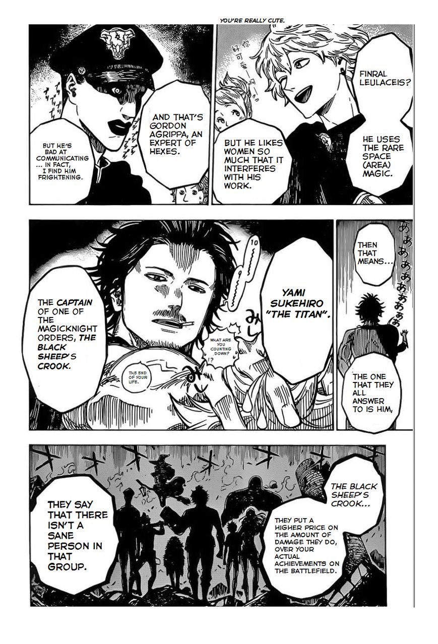 Black Clover, Chapter 2 The Magic Knights Entrance Exam(fixed) image 009