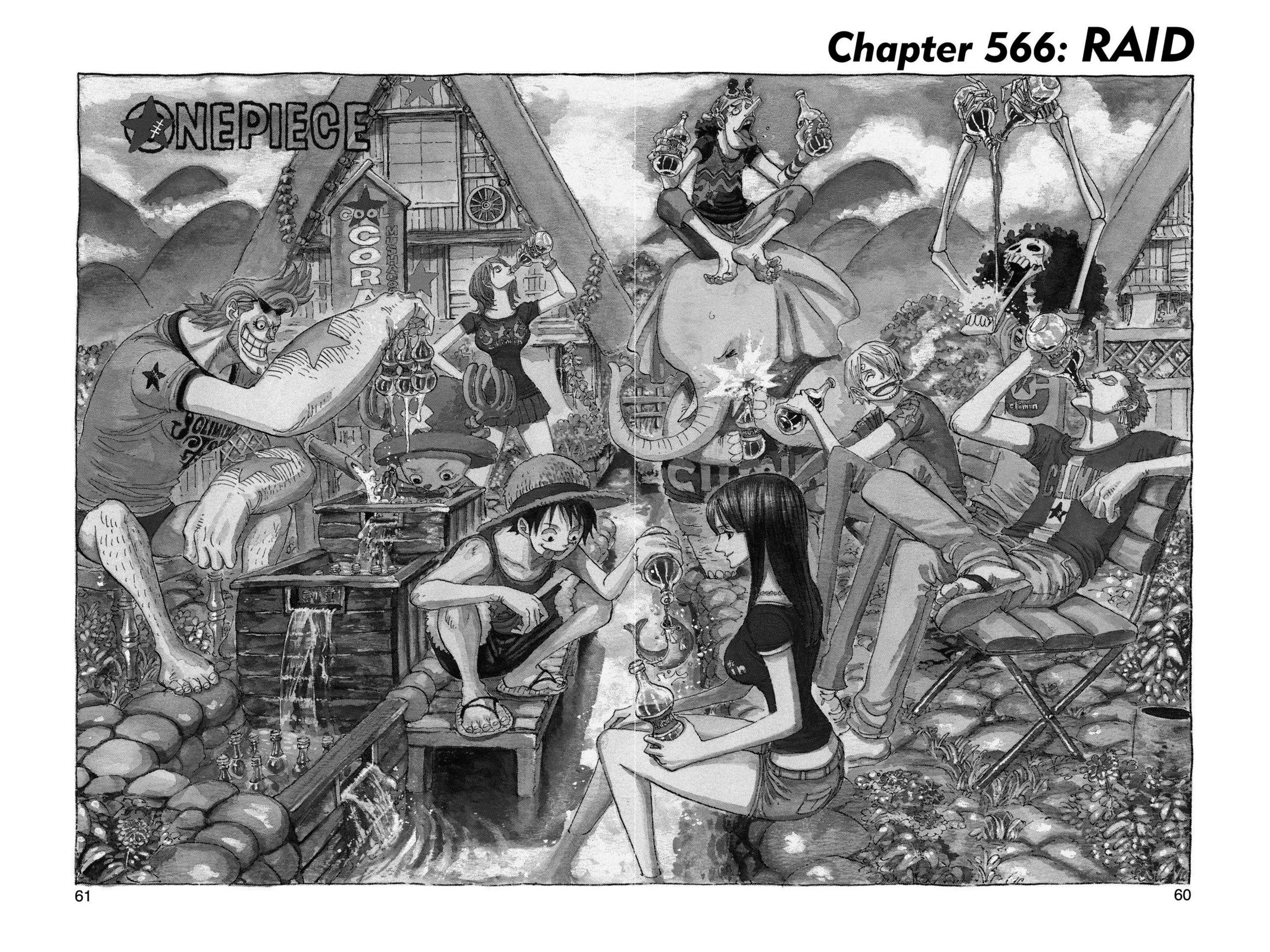 One Piece, Chapter 566 image 001
