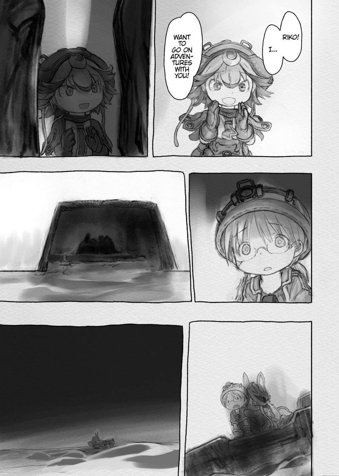 Made In Abyss, Chapter Hello,Abyss 31 image 011