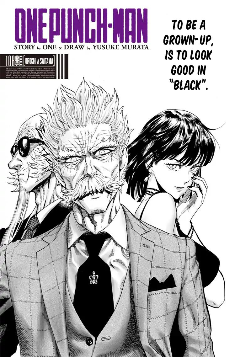 One Punch Man, Chapter Onepunch-Man 108 image 001