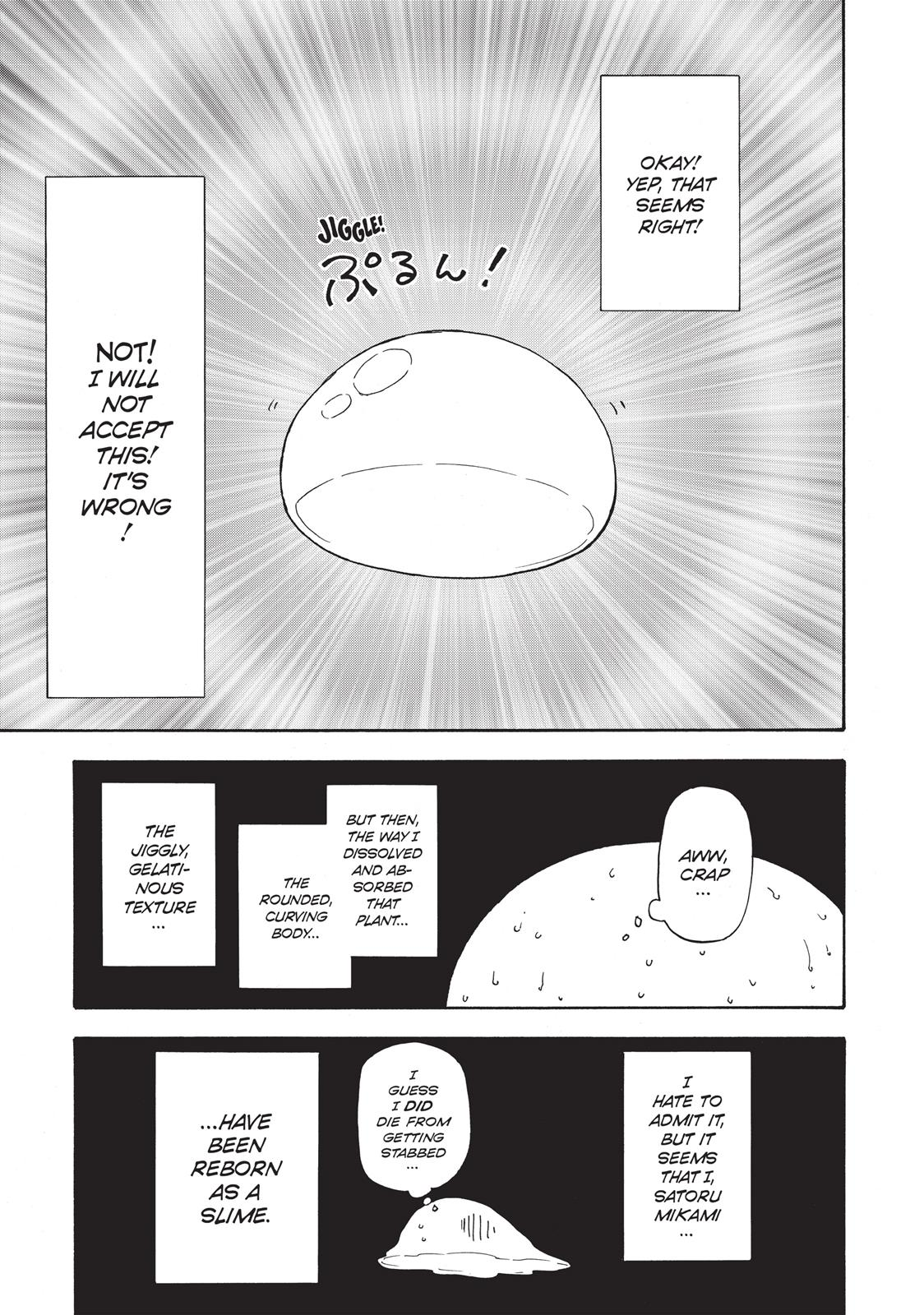 That Time I Got Reincarnated As A Slime, Chapter 1 image 021