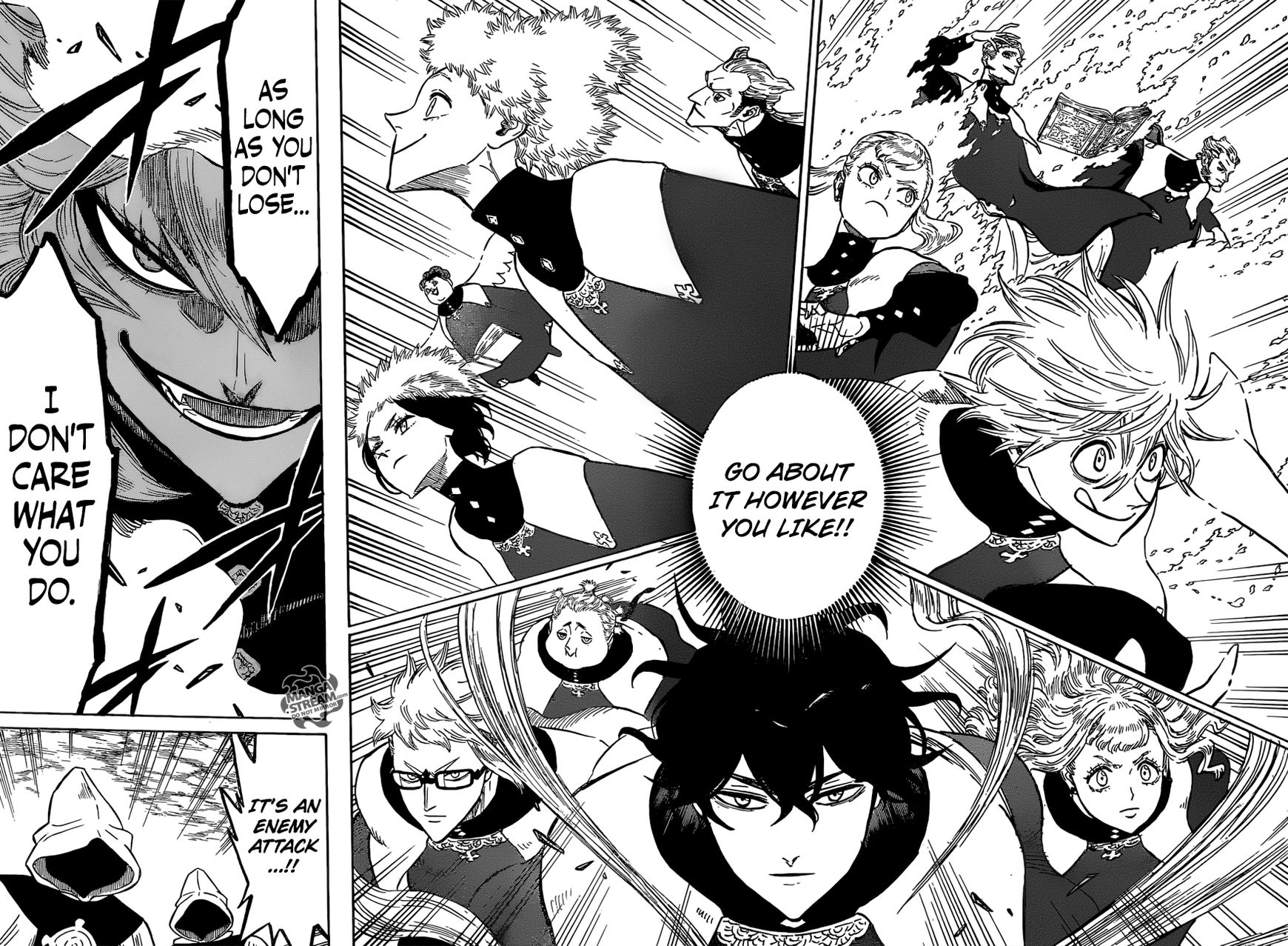Black Clover, Chapter 135 Into the Eye of the Midnight Sun's Base!! image 011