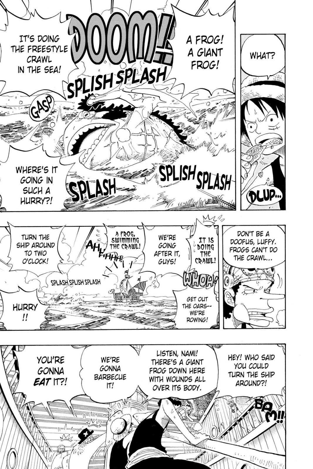 One Piece, Chapter 322 image 007