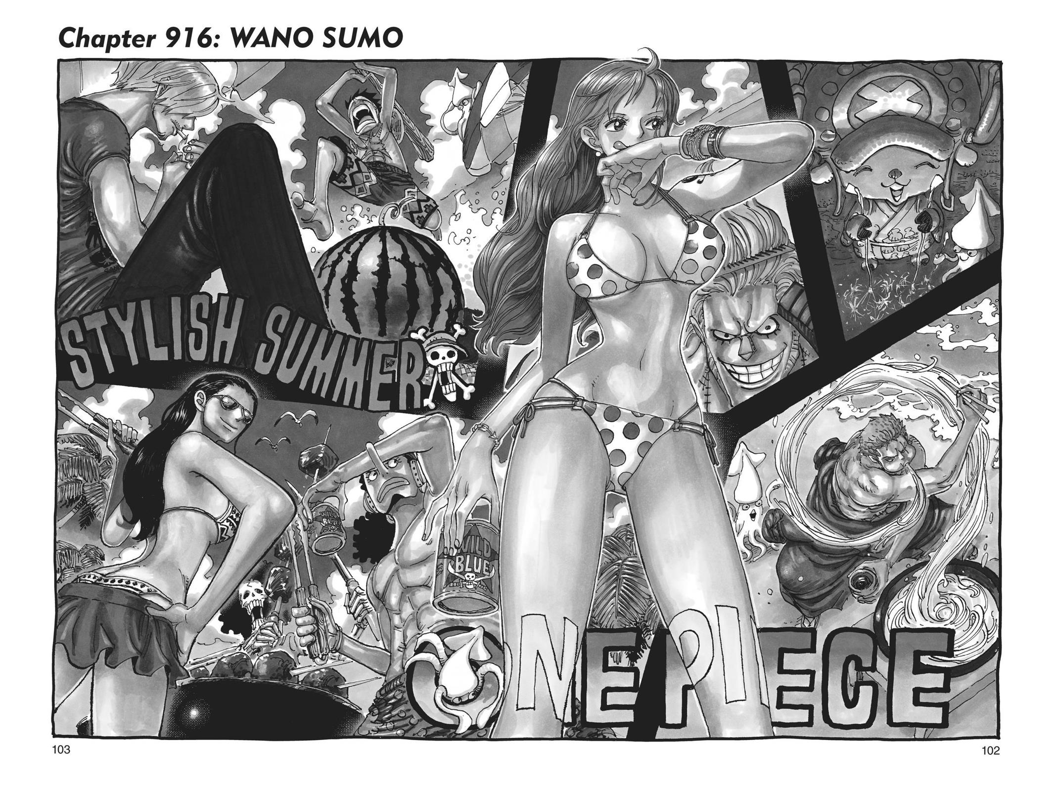 One Piece, Chapter 916 image 001