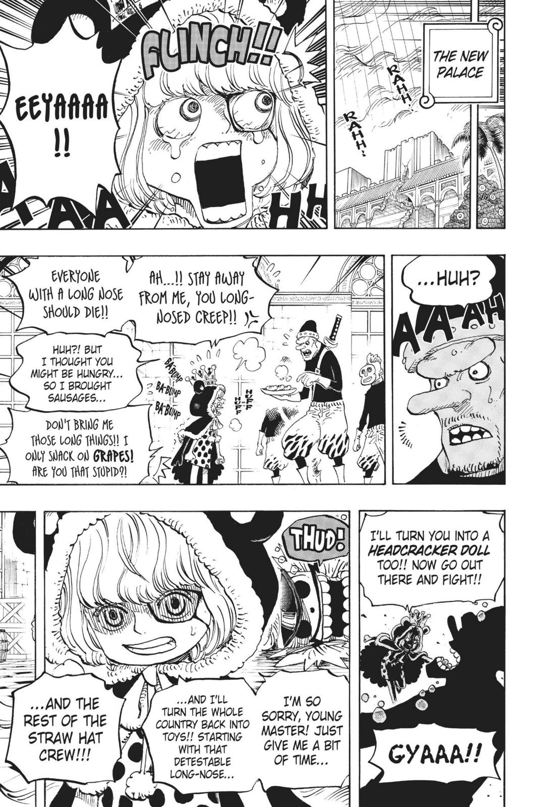 One Piece, Chapter 756 image 011