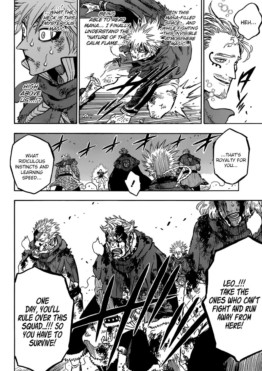 Black Clover, Chapter 171 The Sleeping Lion image 008